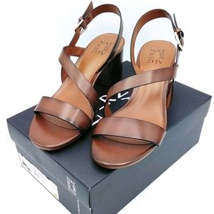 New Naturalizer Kendall Brown Synthetic Sandals
